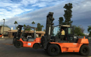 Material Handling and Forklift Driver Training Class