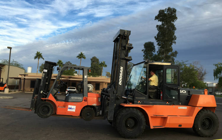 Phoenix Forklift Training Classes Certification Reliable