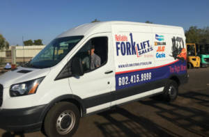 Reliable Forklift's Friendly Customer Service