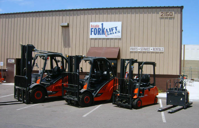 Forklift Rentals In Phoenix, AZ | Reliable Forklift Sales