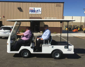 Customer Service at Reliable Forklift Sales