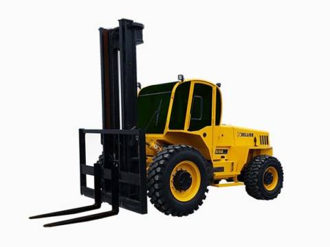 SELLICK 2017 S Series Rough Terrain Forklifts FORKLIFT